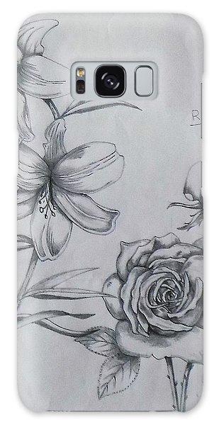 Flower Study 1 Galaxy Case