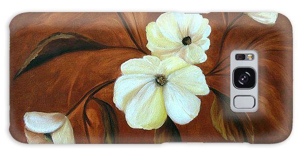 Flower Study Galaxy Case by Carol Sweetwood