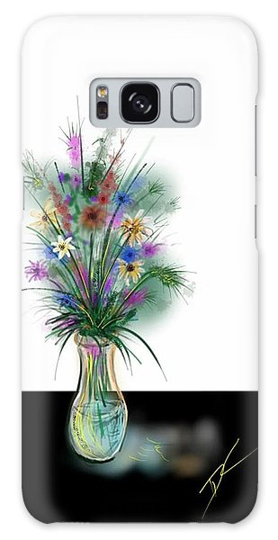 Flower Study One Galaxy Case by Darren Cannell