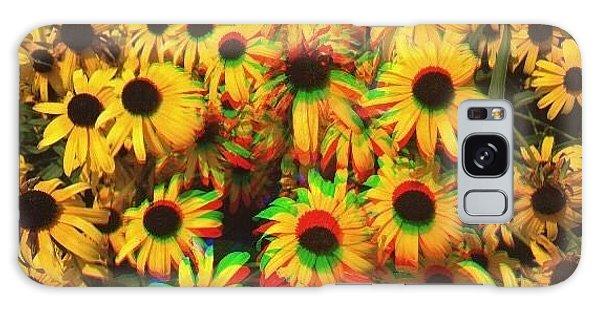 Edit Galaxy Case - Flower Trip by Annie Walczyk
