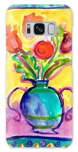 Flower Vase Galaxy Case