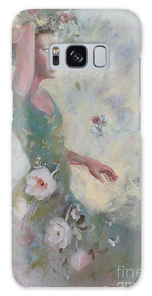 Flower Vender Galaxy Case by Gertrude Palmer