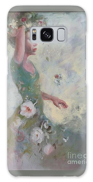 Flower Vender Galaxy Case by Gertrude Palmer