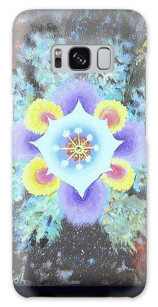 Floral Vortex Galaxy Case