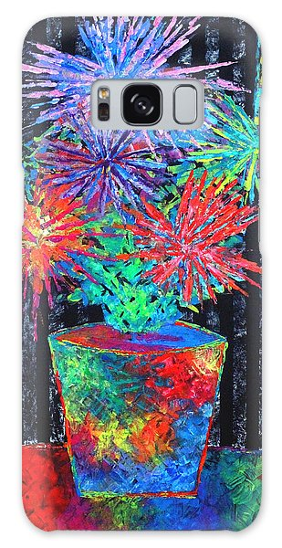 Flower-works Plant Galaxy Case by Jeremy Aiyadurai