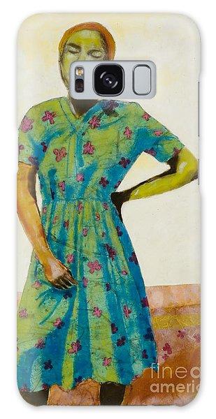 Flowered Dress Galaxy Case