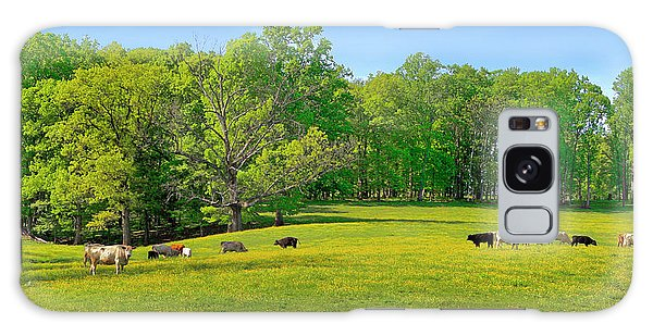Flowering Cow Pasture Galaxy Case