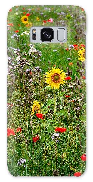 Flowering Meadow Galaxy Case by Ari Salmela