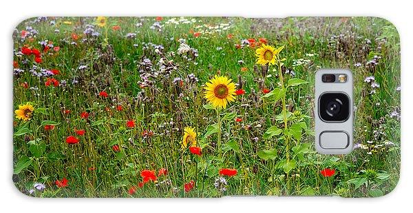 Flowering Meadow Galaxy Case