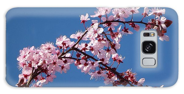 Flowering Of The Plum Tree 4 Galaxy Case by Jean Bernard Roussilhe