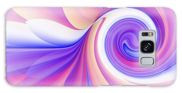 Flowering Pastel Galaxy Case