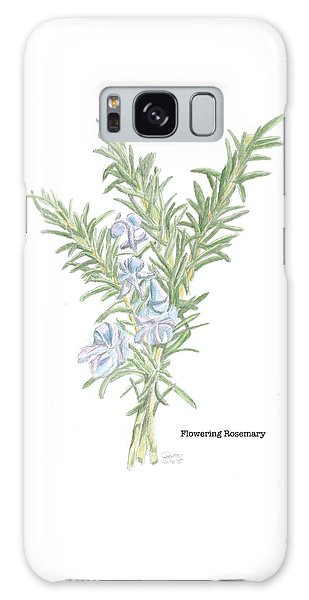 Flowering Rosemary Galaxy Case
