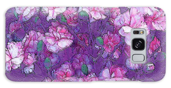 Flowers #063 Galaxy Case by Barbara Tristan