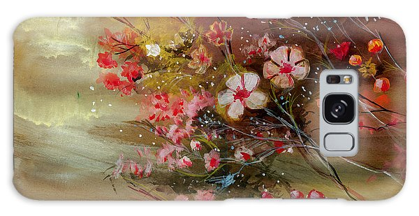 Flowers 2 Galaxy Case