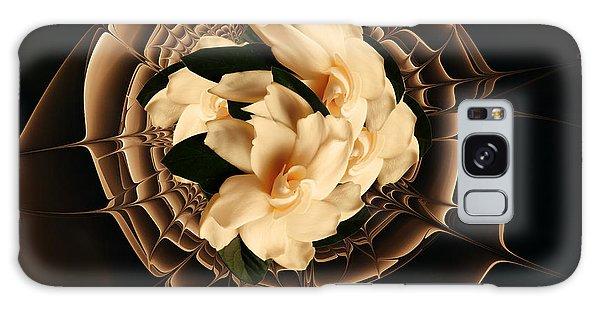 Gardenia Galaxy Case - Flowers And Chocolate by Georgiana Romanovna