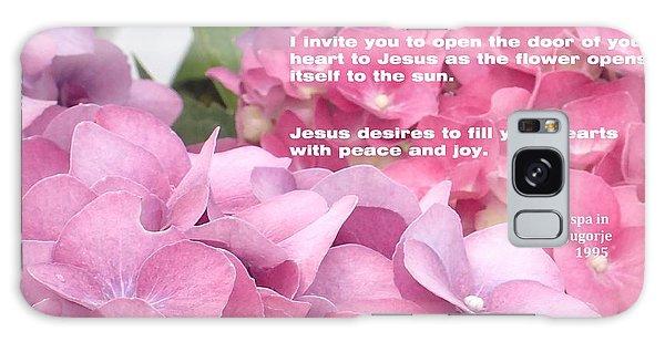 Flowers And Joy  Galaxy Case