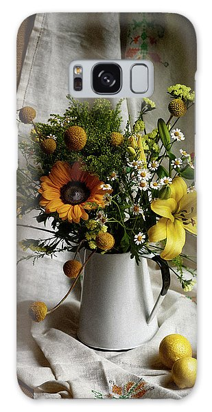 Flowers And Lemons Galaxy Case
