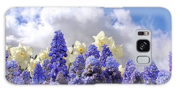Flowers And Sky Galaxy Case