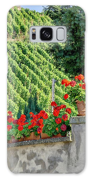 Flowers And Vines Galaxy Case by Alan Toepfer