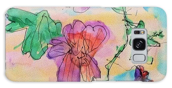 Flowers Are Blooming  Galaxy Case