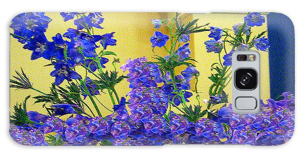Flowers At The Wall Galaxy Case