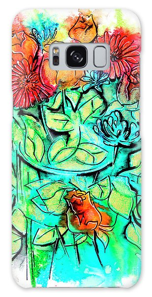 Flowers Bouquet, Illustration Galaxy Case