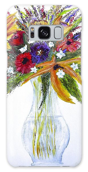 Flowers For An Occasion Galaxy Case