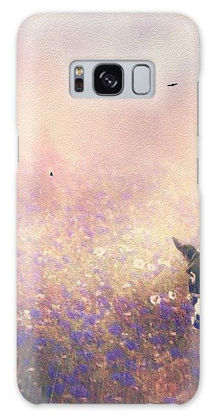 Flowers For Breakfast Galaxy Case by Diane Schuster