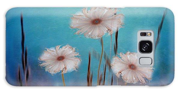 Flowers For Eternity 2 Galaxy Case by Klara Acel