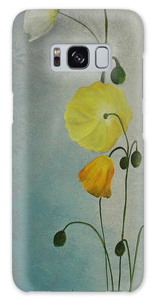 Flowers For Everyone Galaxy Case by Jane Autry