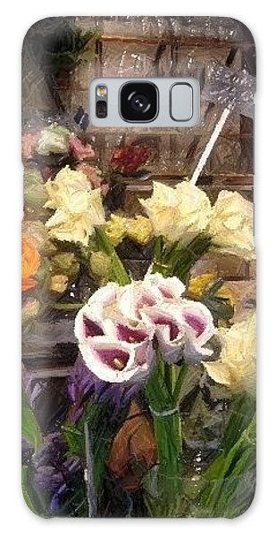 Flowers For Patty Galaxy Case