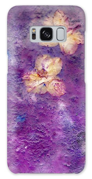 Flowers From The Garden Galaxy Case