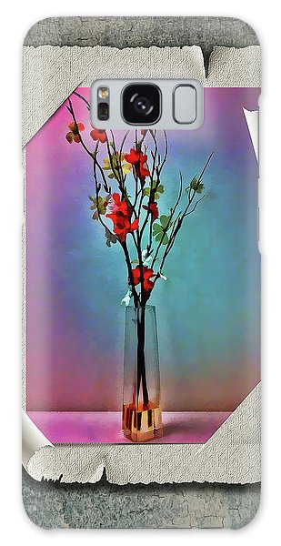 Flowers In A Vase Galaxy Case