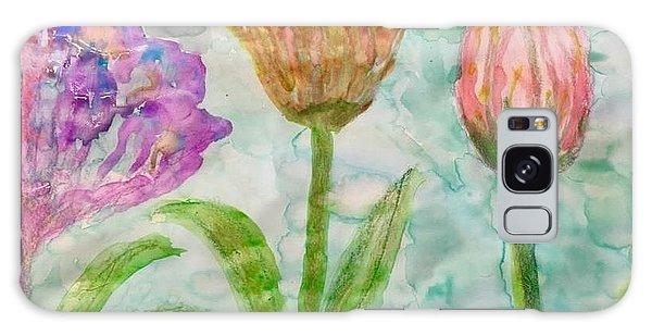 Tulips A'bloom Galaxy Case