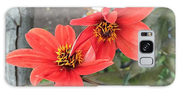 Flowers In Love Galaxy Case