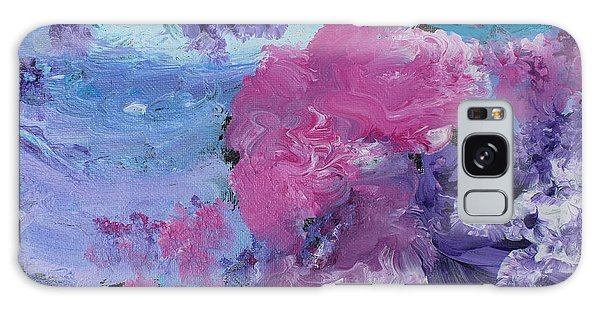 Flowers In The Clouds Galaxy Case