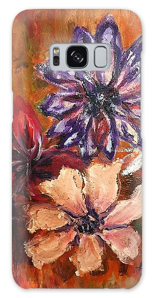 Flowers In The Spring Galaxy Case