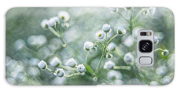 Flowers Galaxy Case by Jaroslaw Grudzinski