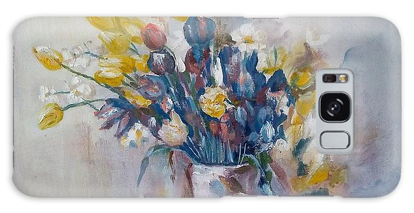 Tulips Flowers Galaxy Case by Khalid Saeed