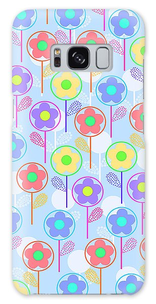Repeat Galaxy Case - Flowers by Louisa Knight