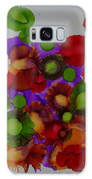 Flowers Of Paradise # 66 Galaxy Case