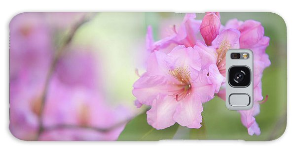 Buy Art Online Galaxy Case - Flowers Of Pink Rhododendron by Jenny Rainbow