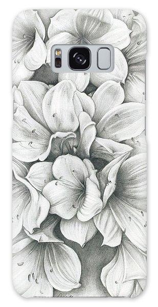 Clivia Flowers Pencil Galaxy Case