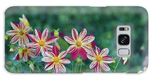 Galaxy Case - Flowers  by Shawn Hamilton