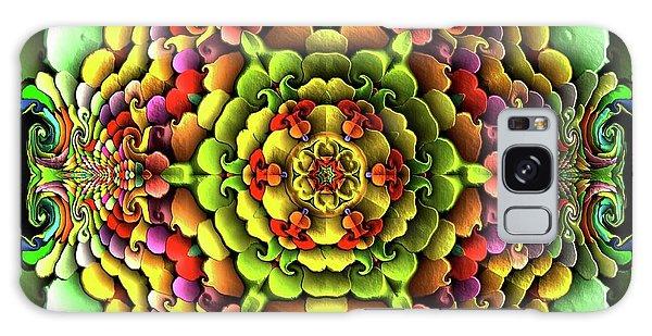 Galaxy Case featuring the digital art Flowerscales 61 by Robert Thalmeier