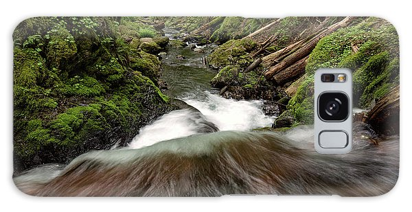 Flowing Downstream Waterfall Art By Kaylyn Franks Galaxy Case