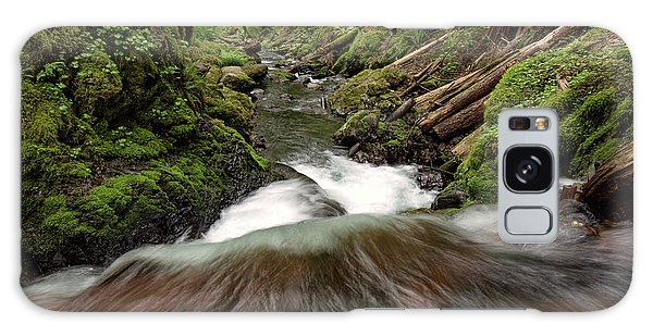 Flowing Downstream Waterfall Art By Kaylyn Franks Galaxy Case