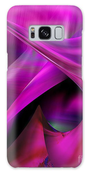 Galaxy Case featuring the painting Flowing Energy by Gerlinde Keating - Galleria GK Keating Associates Inc