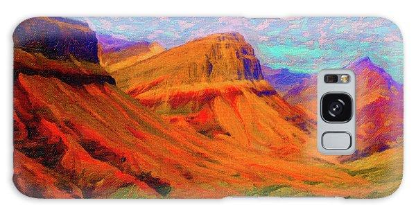 Flowing Rock Galaxy Case by Chuck Mountain