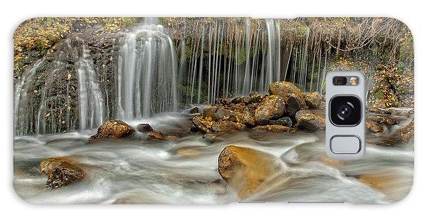 Flowing Water Galaxy Case
